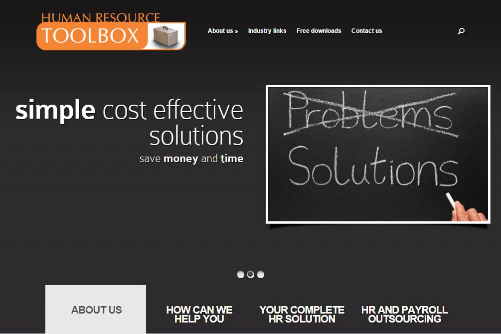HR Toolbox Website
