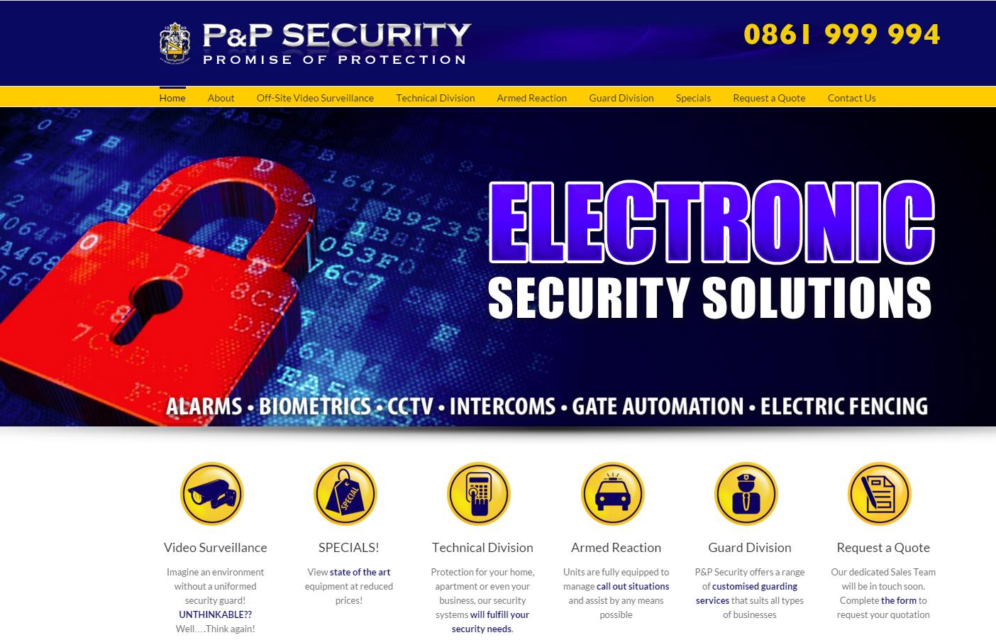 P & P Security